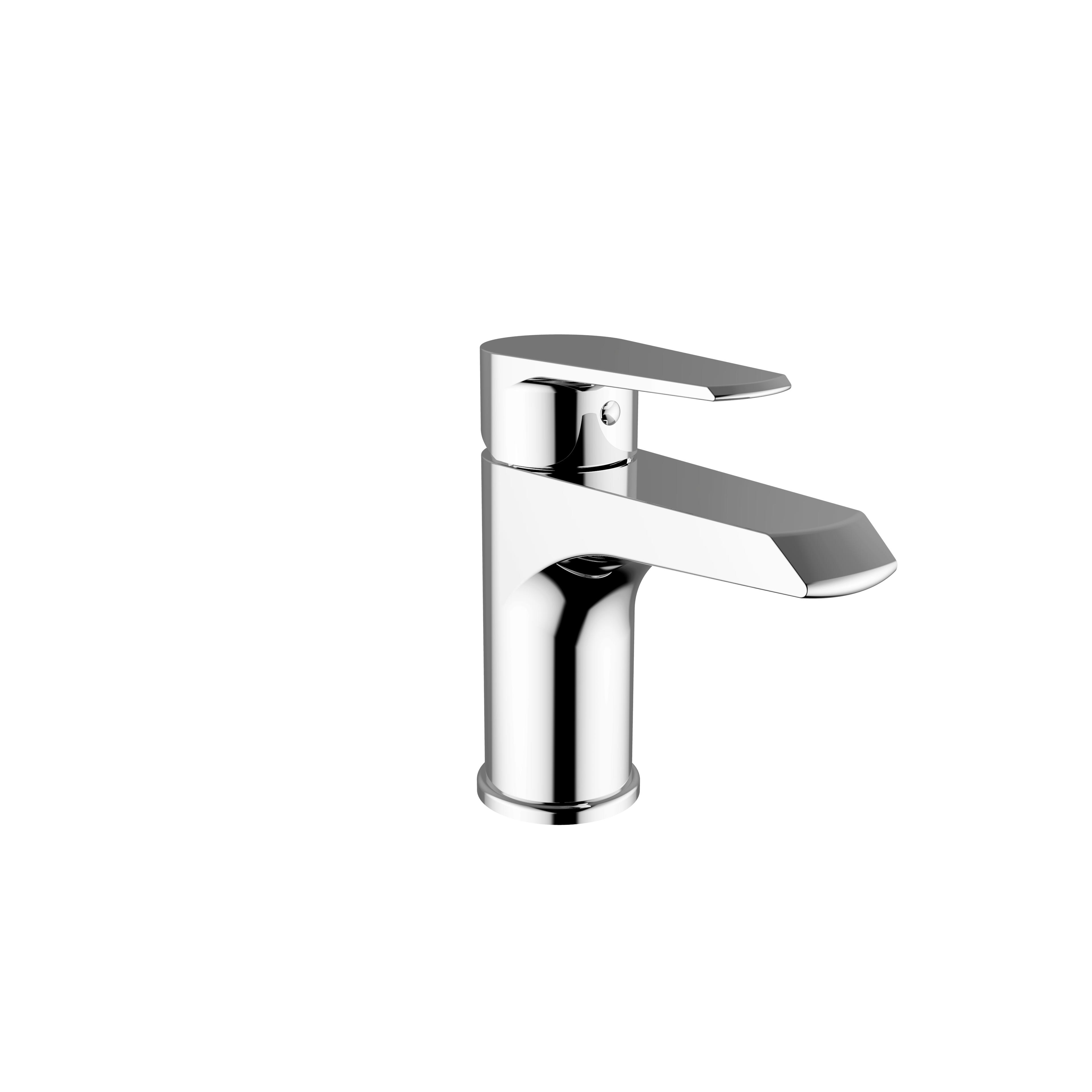 Immagine HD VELVET Miscelatore lavabo con scarico automatico
