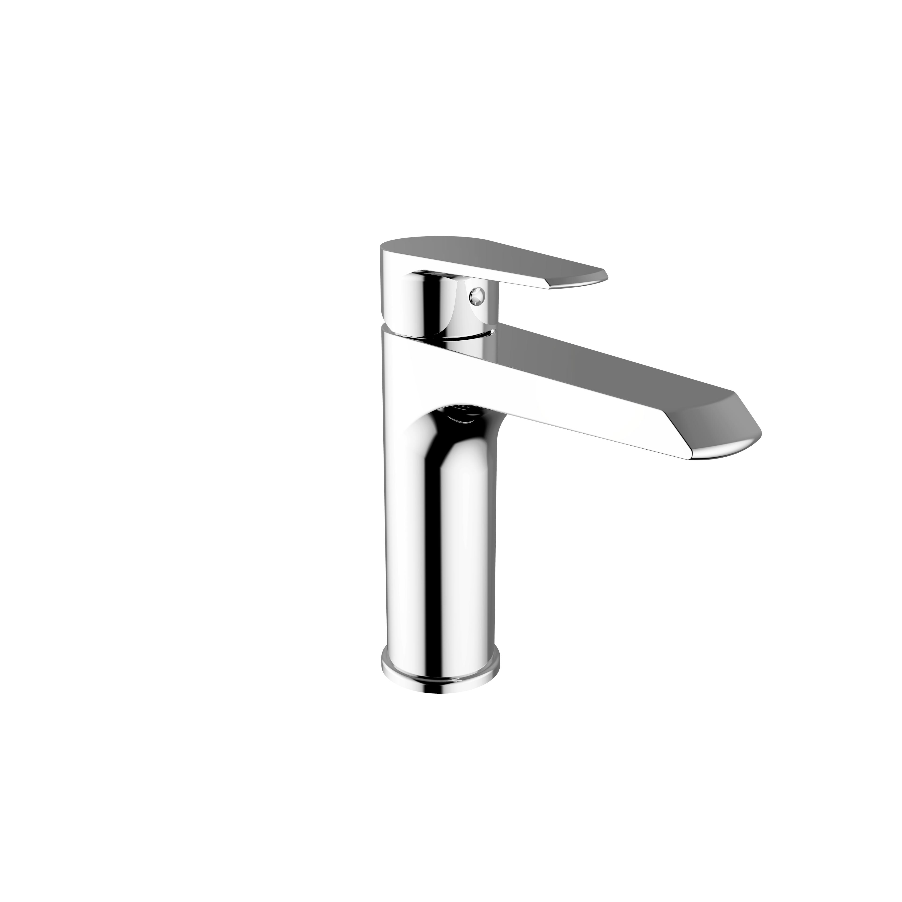 Immagine HD VELVET Miscelatore lavabo medio con scarico automatico