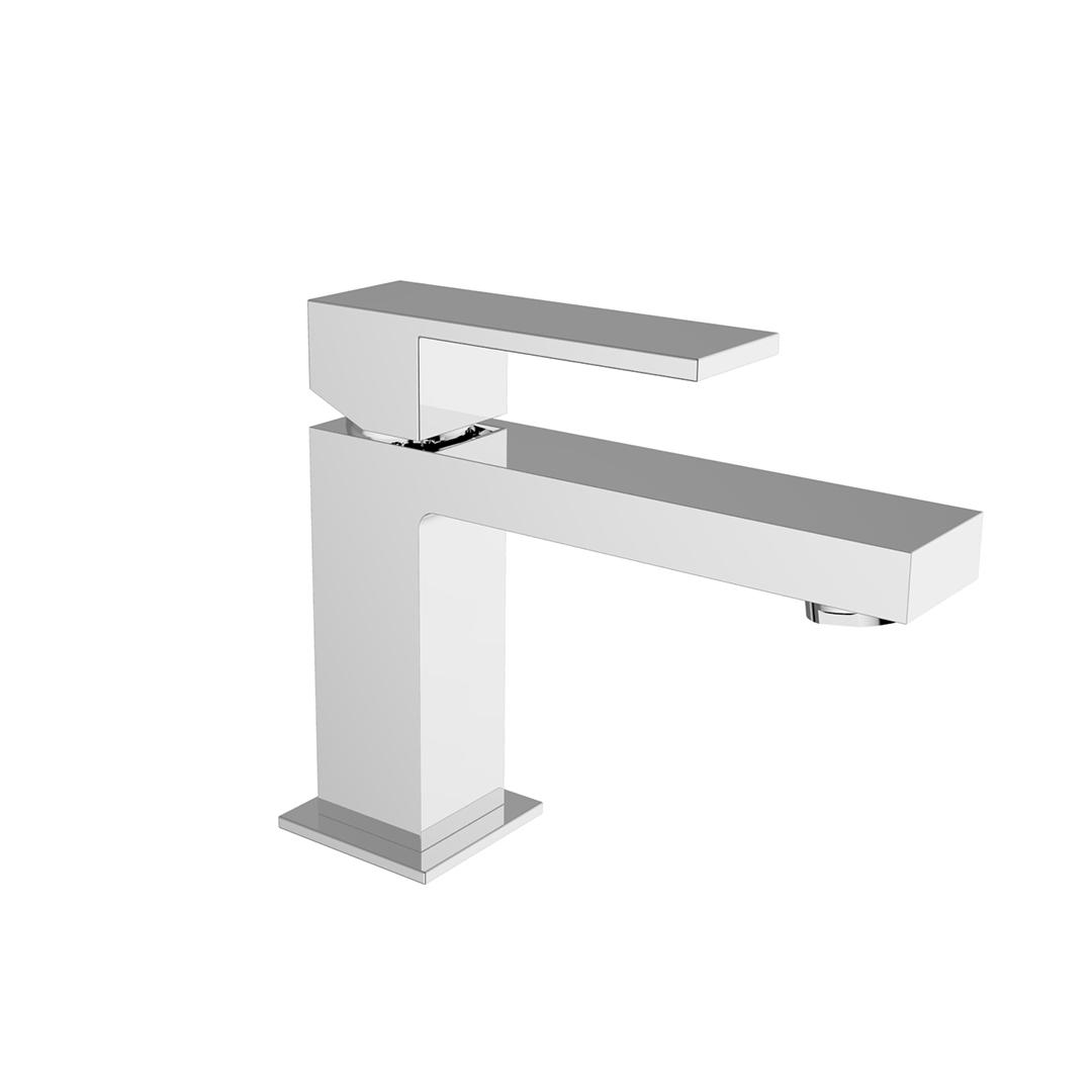 Immagine HD PILLAR Miscelatore lavabo con scarico automatico